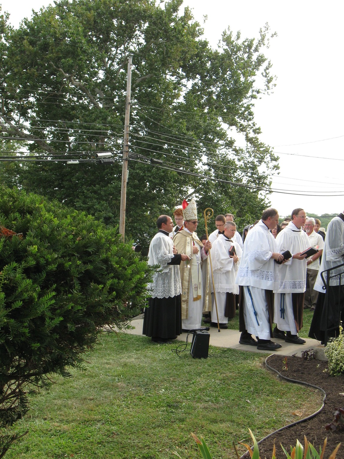 Album August 6 2014 Solemn Dedication Ceremony with Bp Mark Pivarunas